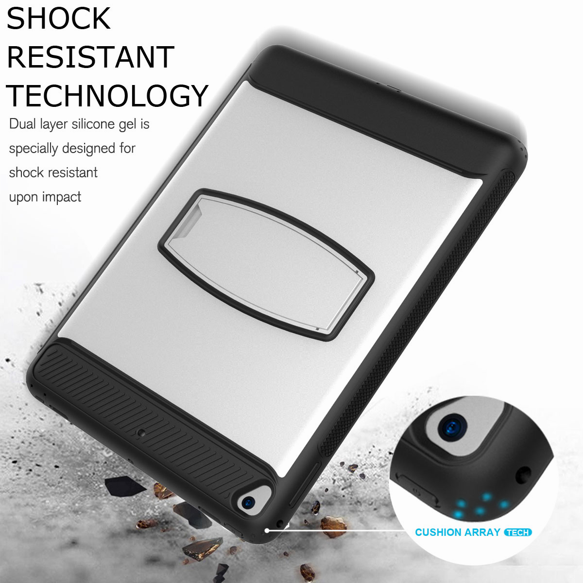 For-Apple-iPad-Air-2-A1566-A1567-Hybrid-Rubber-Shockproof-Hard-Stand-Cover-Case thumbnail 47