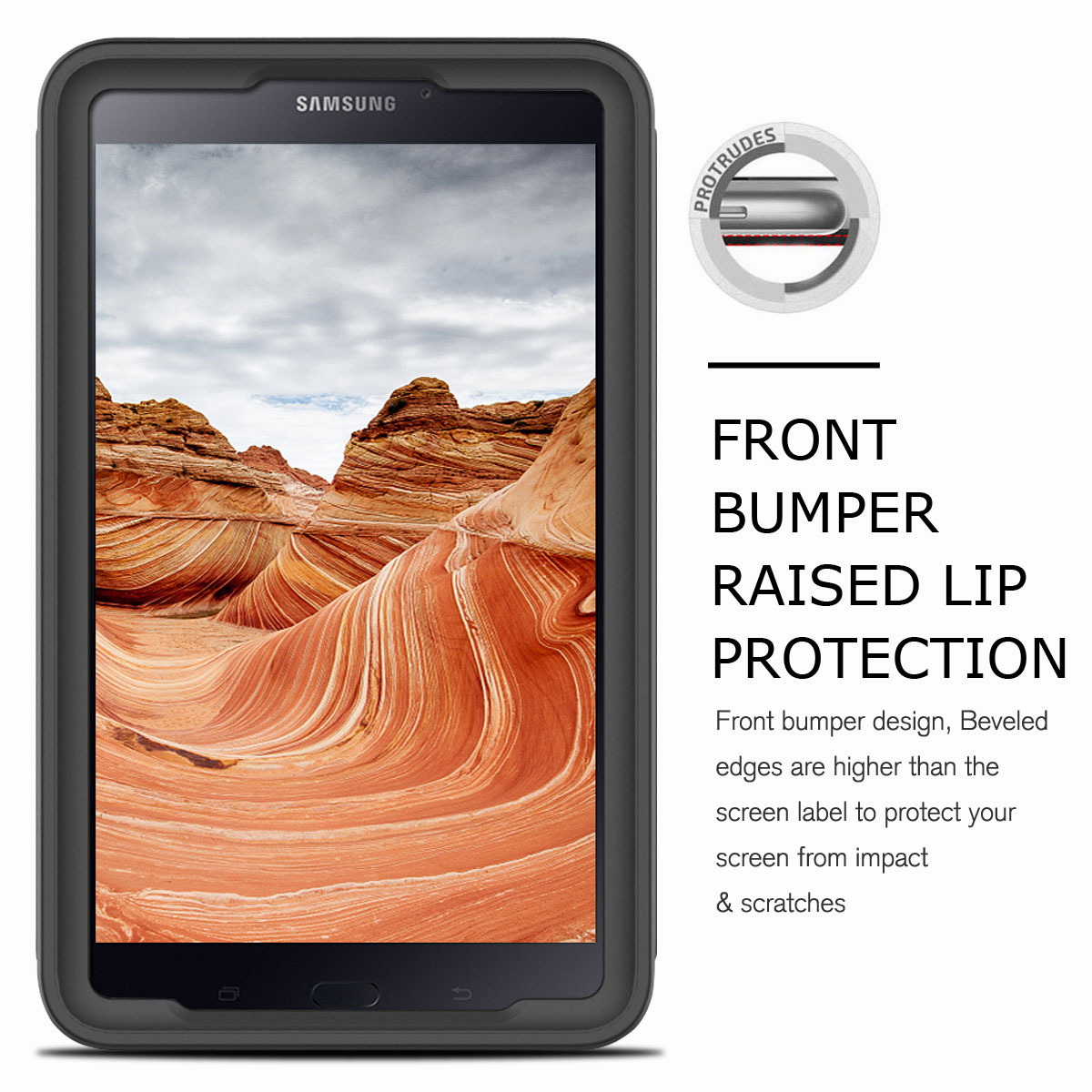 For-Samsung-Galaxy-Tab-E-8-0-039-039-T377-Hybrid-Shockproof-Case-with-Screen-Protector thumbnail 17