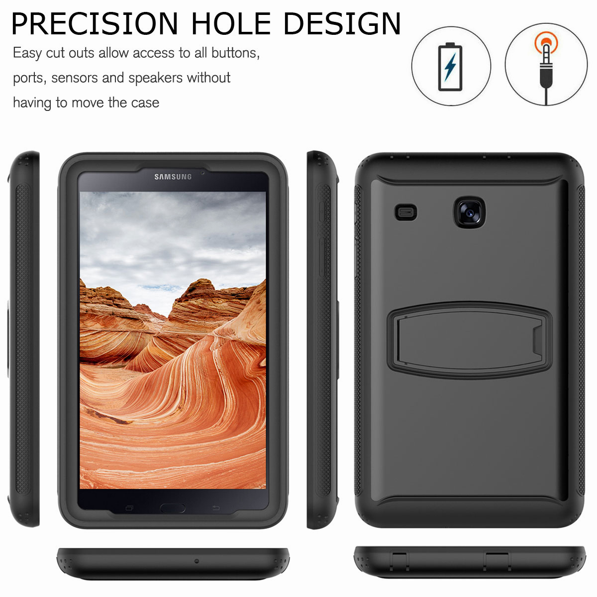 For-Samsung-Galaxy-Tab-E-8-0-039-039-T377-Hybrid-Shockproof-Case-with-Screen-Protector thumbnail 18