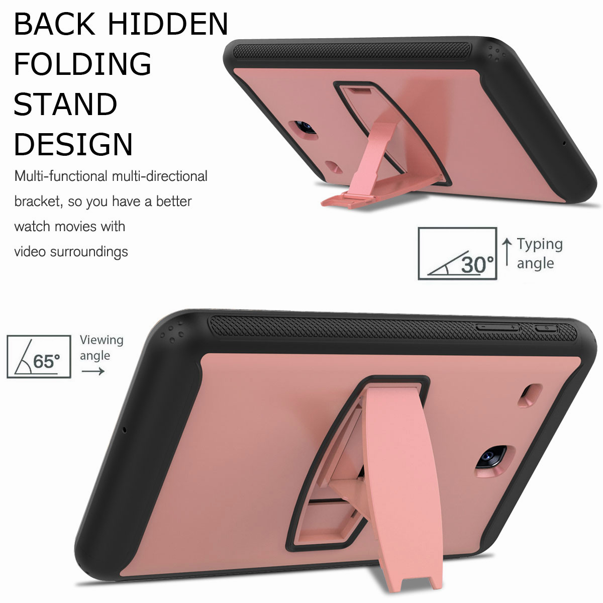 For-Samsung-Galaxy-Tab-E-8-0-039-039-T377-Hybrid-Shockproof-Case-with-Screen-Protector thumbnail 22