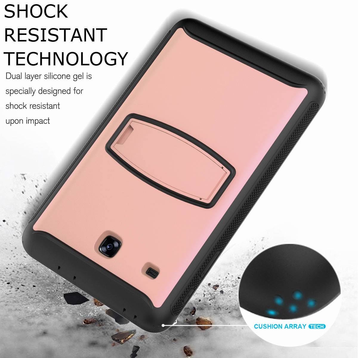 For-Samsung-Galaxy-Tab-E-8-0-039-039-T377-Hybrid-Shockproof-Case-with-Screen-Protector thumbnail 26