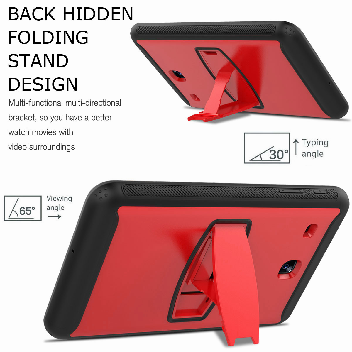 For-Samsung-Galaxy-Tab-E-8-0-039-039-T377-Hybrid-Shockproof-Case-with-Screen-Protector thumbnail 32