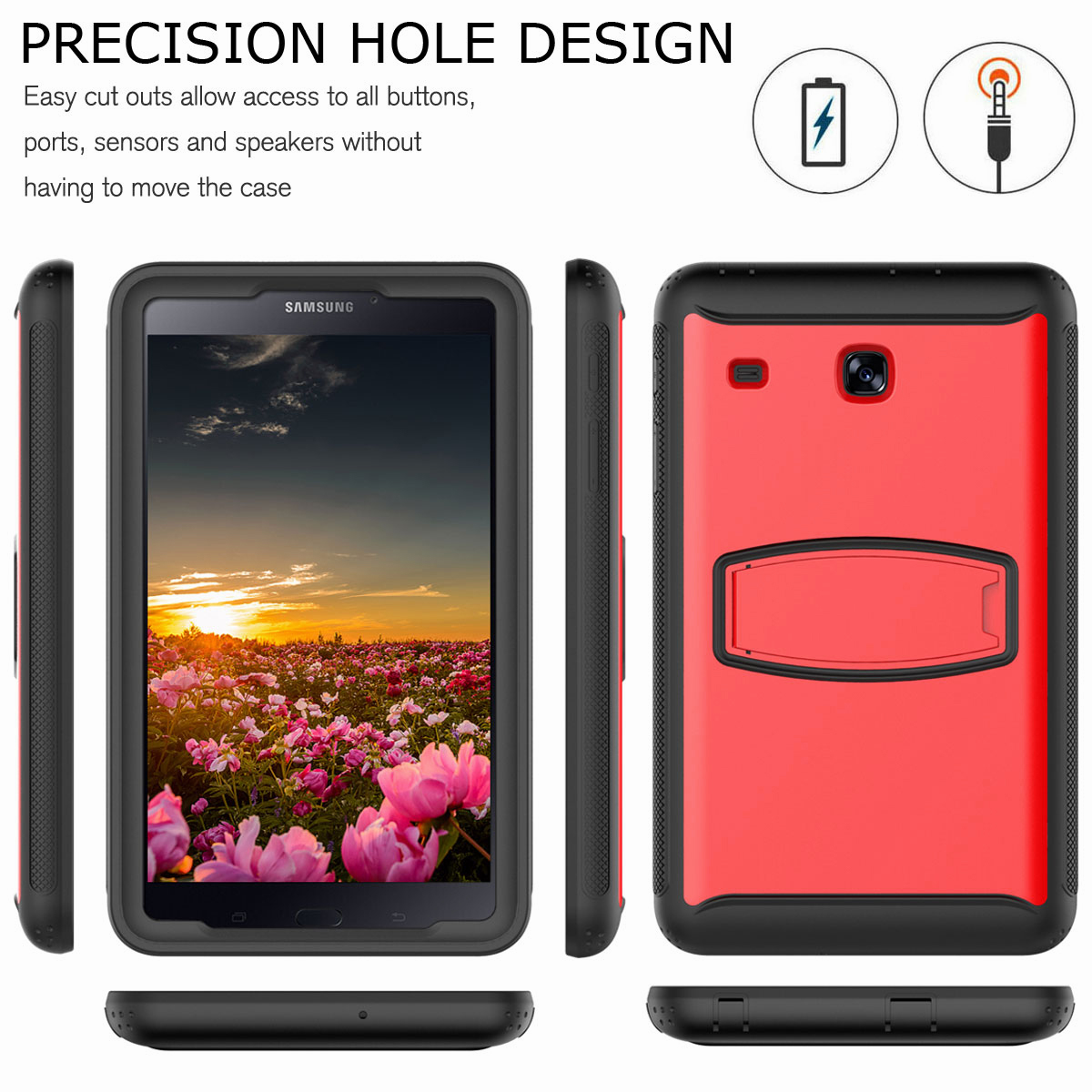 For-Samsung-Galaxy-Tab-E-8-0-039-039-T377-Hybrid-Shockproof-Case-with-Screen-Protector thumbnail 29
