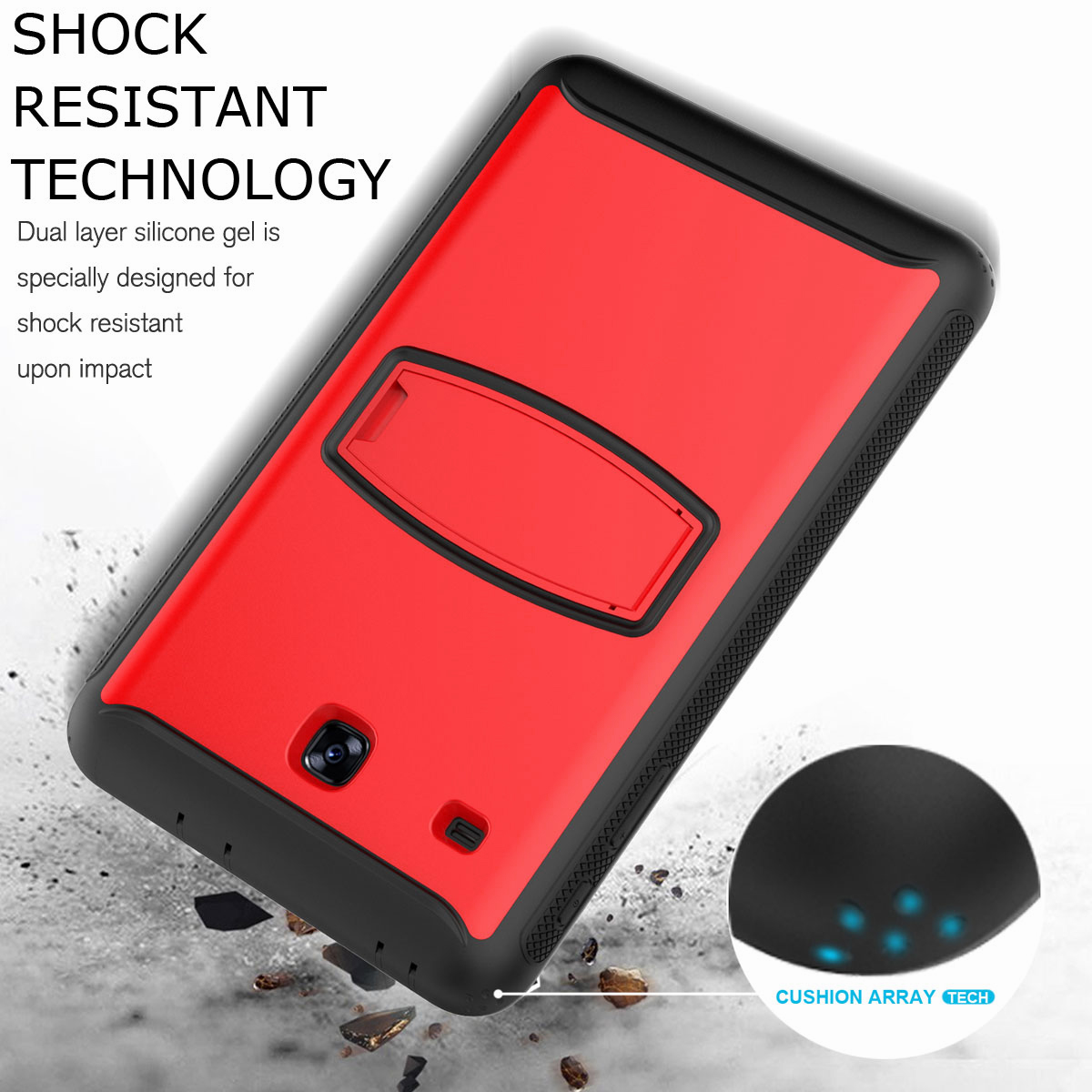 For-Samsung-Galaxy-Tab-E-8-0-039-039-T377-Hybrid-Shockproof-Case-with-Screen-Protector thumbnail 33