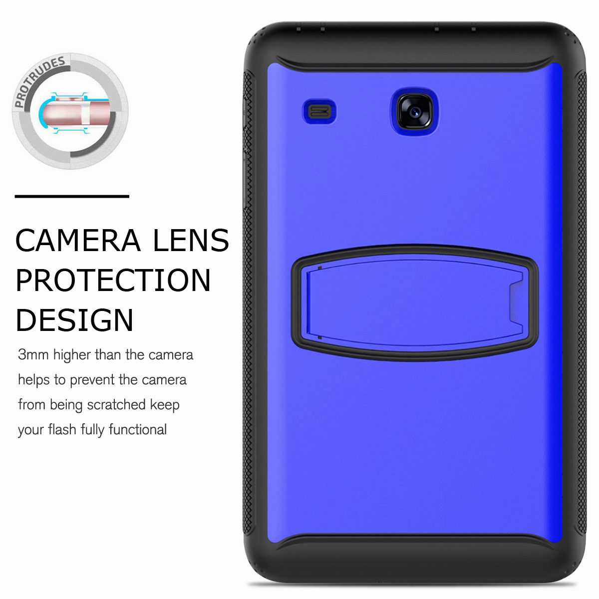 For-Samsung-Galaxy-Tab-E-8-0-039-039-T377-Hybrid-Shockproof-Case-with-Screen-Protector thumbnail 37
