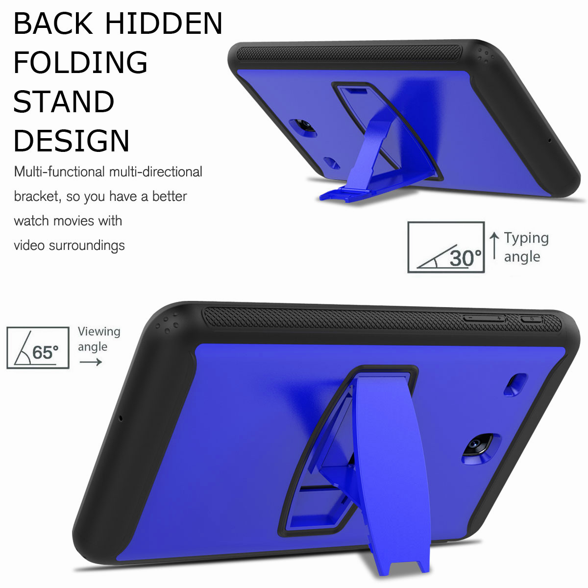 For-Samsung-Galaxy-Tab-E-8-0-039-039-T377-Hybrid-Shockproof-Case-with-Screen-Protector thumbnail 36