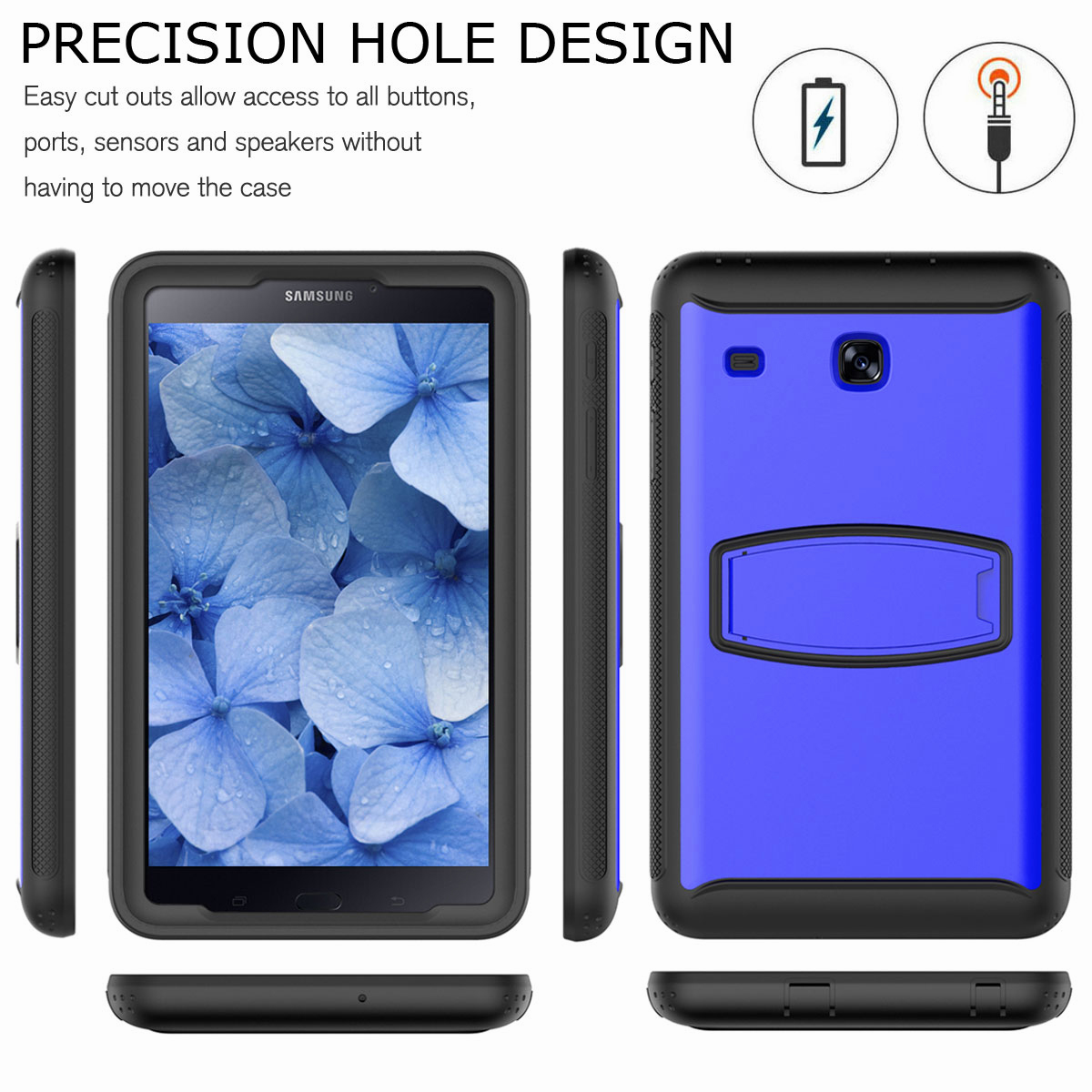 For-Samsung-Galaxy-Tab-E-8-0-039-039-T377-Hybrid-Shockproof-Case-with-Screen-Protector thumbnail 39