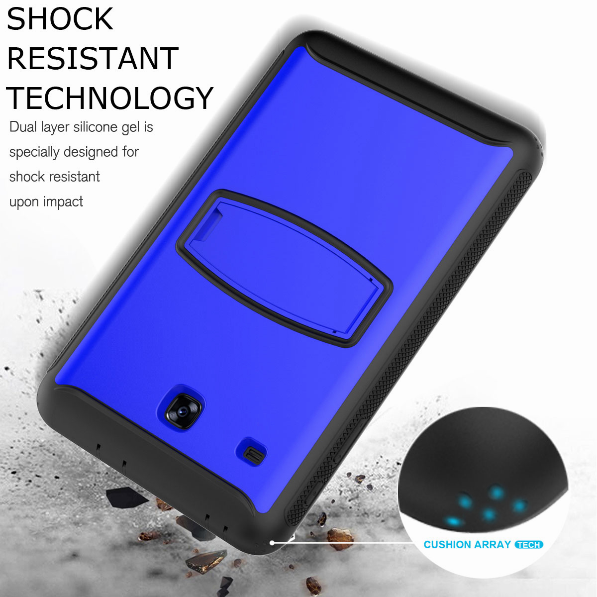 For-Samsung-Galaxy-Tab-E-8-0-039-039-T377-Hybrid-Shockproof-Case-with-Screen-Protector thumbnail 40