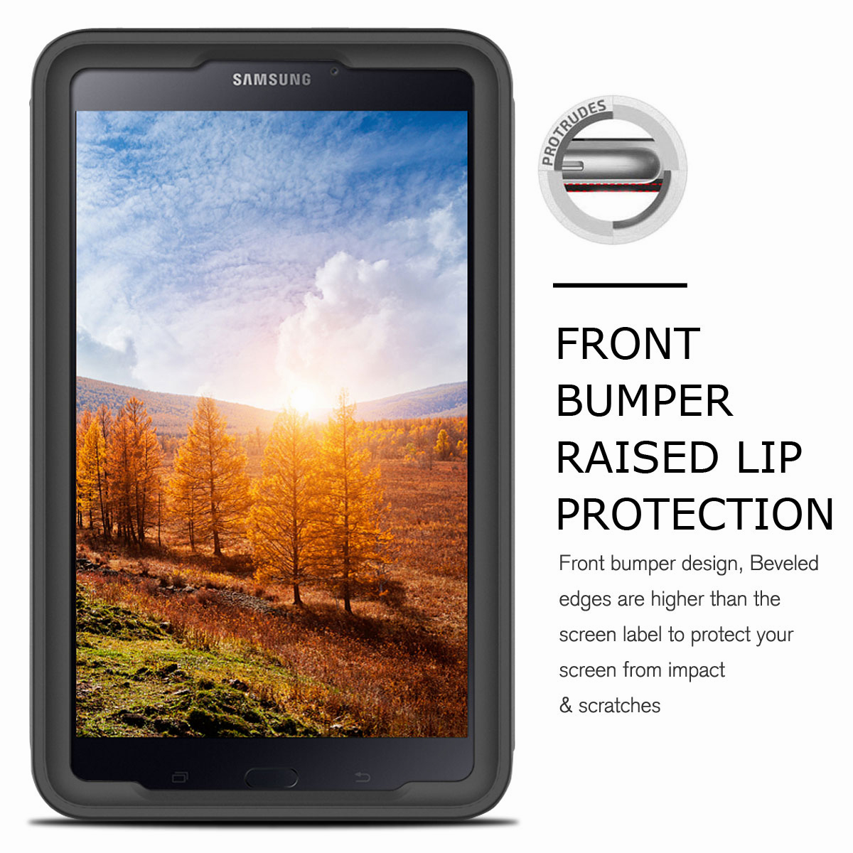 For-Samsung-Galaxy-Tab-E-8-0-039-039-T377-Hybrid-Shockproof-Case-with-Screen-Protector thumbnail 45