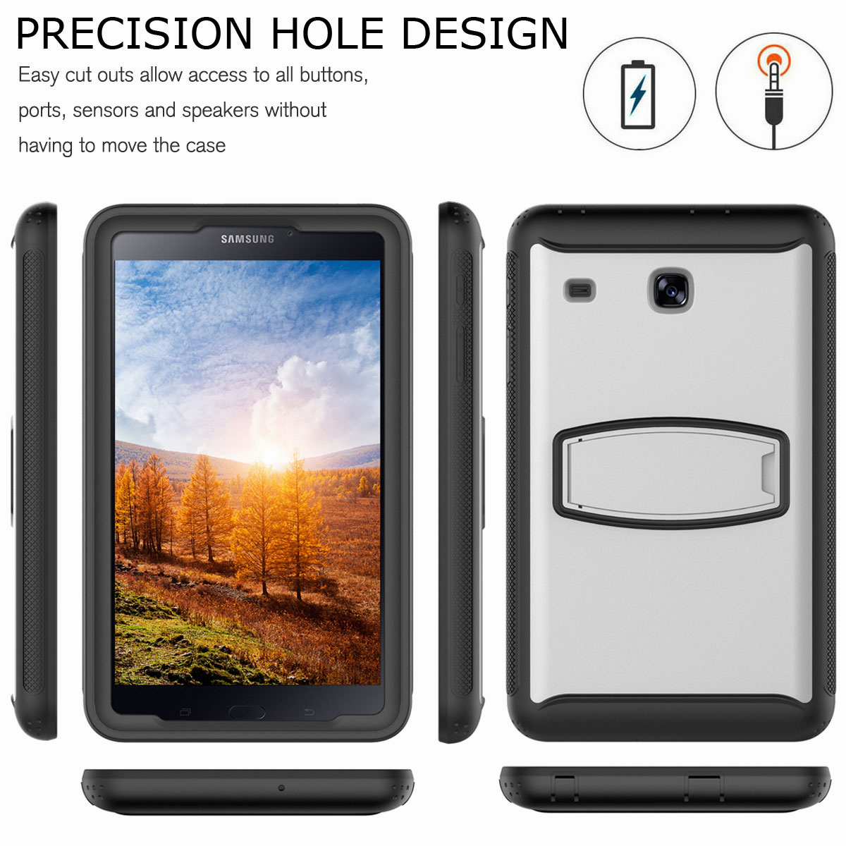 For-Samsung-Galaxy-Tab-E-8-0-039-039-T377-Hybrid-Shockproof-Case-with-Screen-Protector thumbnail 46