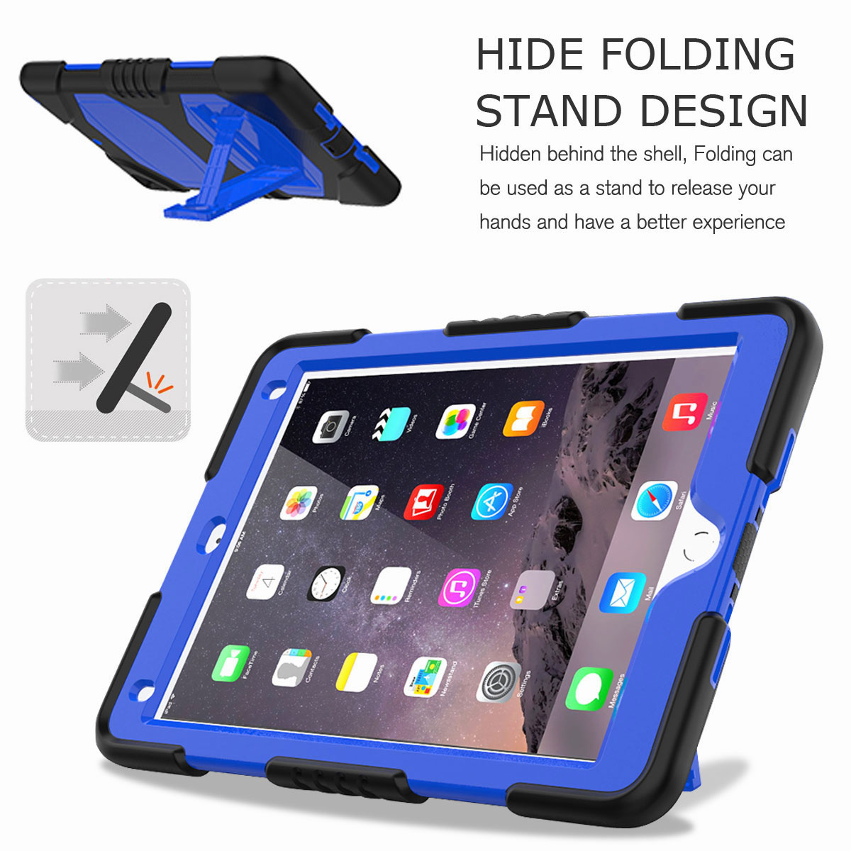 Hybrid-Rubber-Heavy-Duty-Shockproof-Case-Cover-For-iPad-9-7-6th-Generation-2018 thumbnail 29