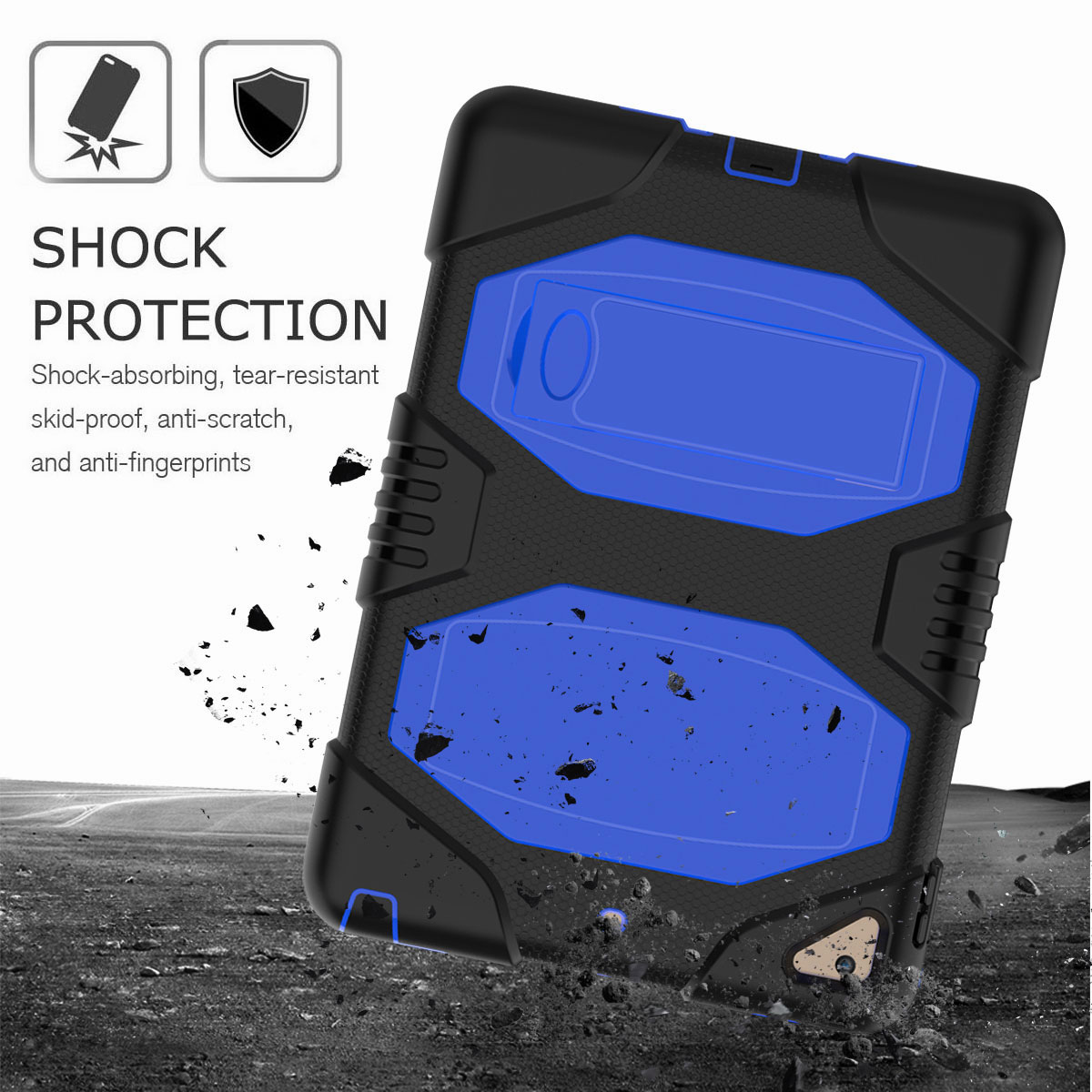 Hybrid-Rubber-Heavy-Duty-Shockproof-Case-Cover-For-iPad-9-7-6th-Generation-2018 thumbnail 30