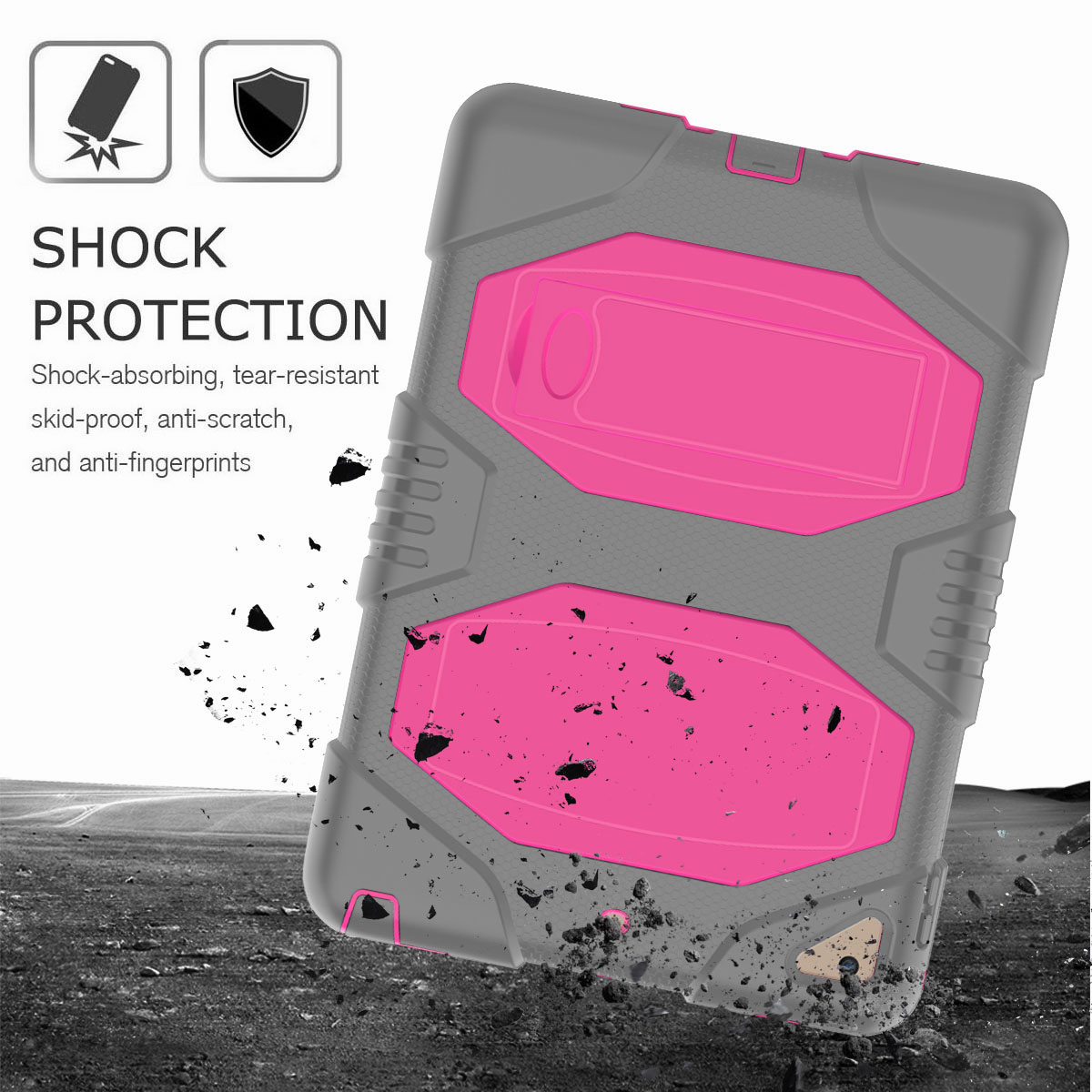 Hybrid-Rubber-Heavy-Duty-Shockproof-Case-Cover-For-iPad-9-7-6th-Generation-2018 thumbnail 54