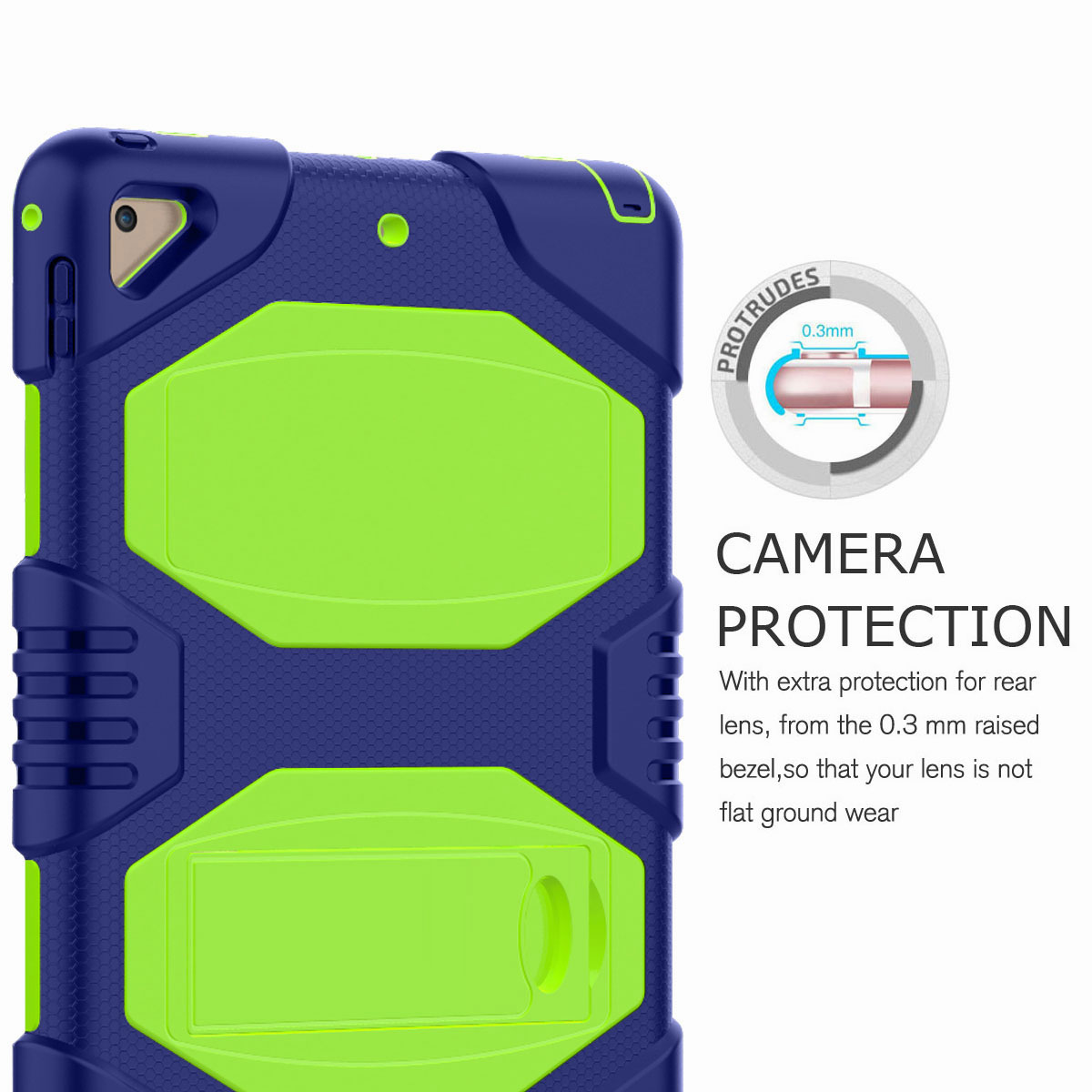 Hybrid-Rubber-Heavy-Duty-Shockproof-Case-Cover-For-iPad-9-7-6th-Generation-2018 thumbnail 62