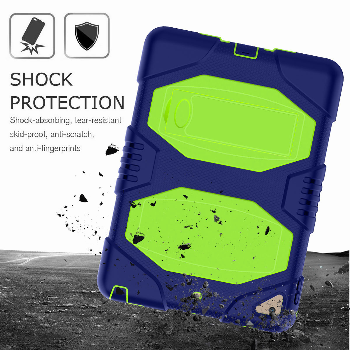 Hybrid-Rubber-Heavy-Duty-Shockproof-Case-Cover-For-iPad-9-7-6th-Generation-2018 thumbnail 66