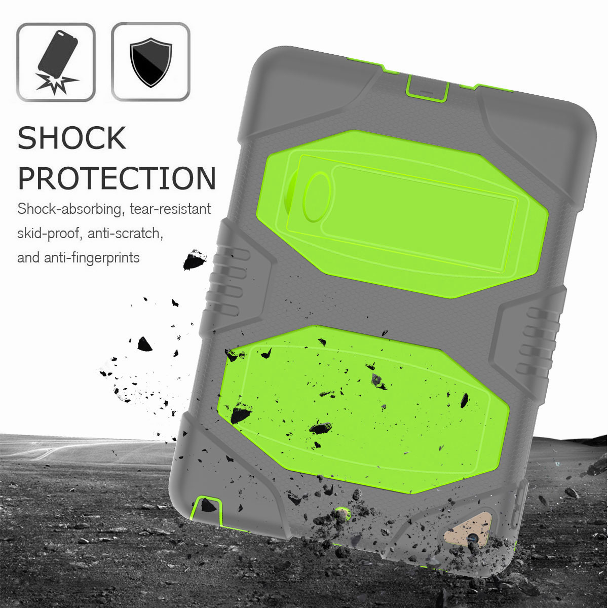Hybrid-Rubber-Heavy-Duty-Shockproof-Case-Cover-For-iPad-9-7-6th-Generation-2018 thumbnail 72