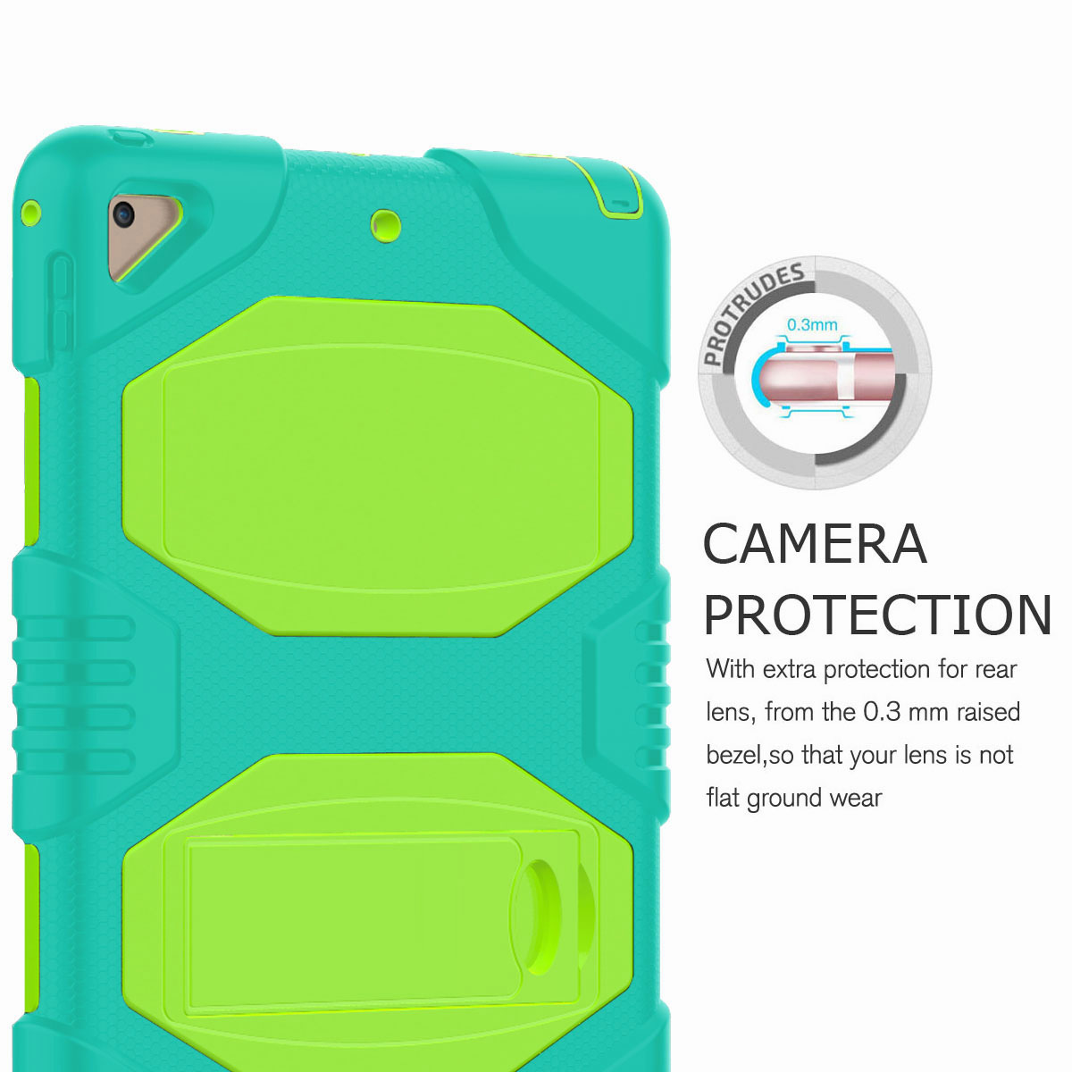 Hybrid-Rubber-Heavy-Duty-Shockproof-Case-Cover-For-iPad-9-7-6th-Generation-2018 thumbnail 74