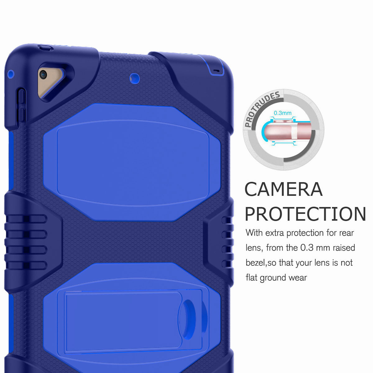 Hybrid-Rubber-Heavy-Duty-Shockproof-Case-Cover-For-iPad-9-7-6th-Generation-2018 thumbnail 80