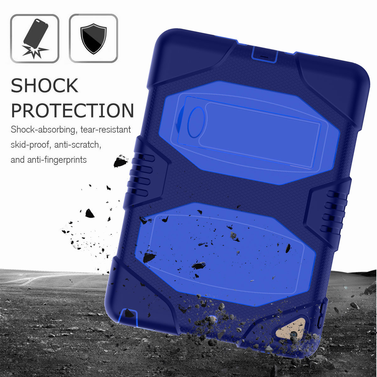 Hybrid-Rubber-Heavy-Duty-Shockproof-Case-Cover-For-iPad-9-7-6th-Generation-2018 thumbnail 84