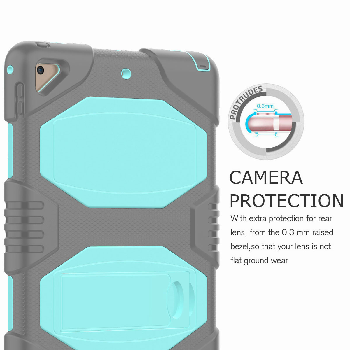 Hybrid-Rubber-Heavy-Duty-Shockproof-Case-Cover-For-iPad-9-7-6th-Generation-2018 thumbnail 92