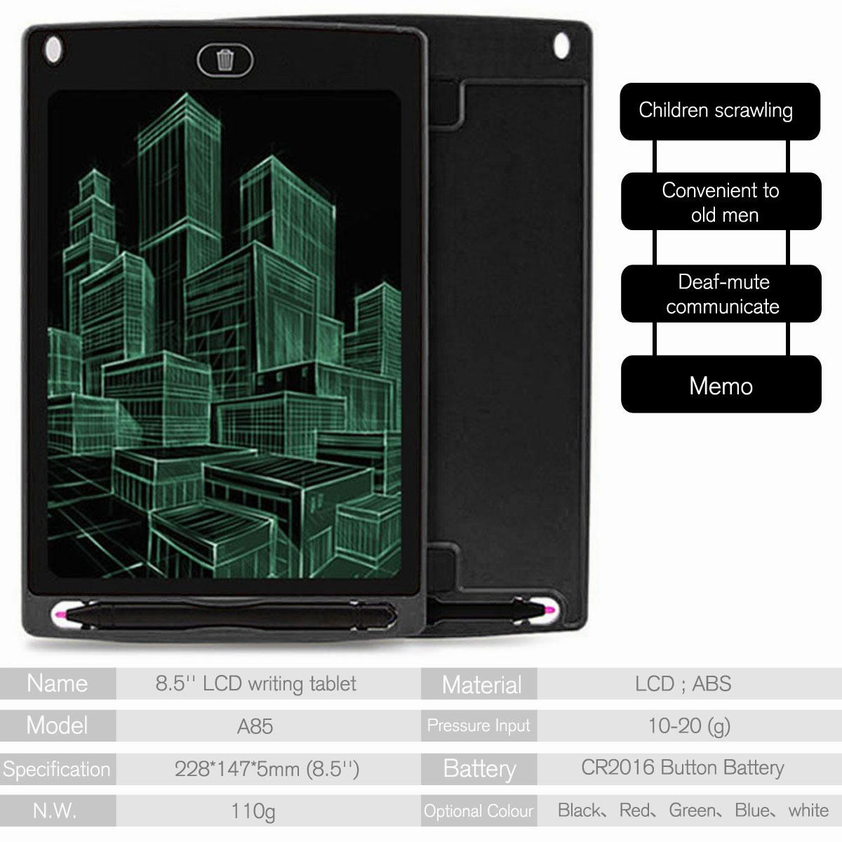 8-5-034-Digital-Electronic-LCD-Writing-Tablet-Drawing-Pad-eWriter-Board-For-Kids thumbnail 16
