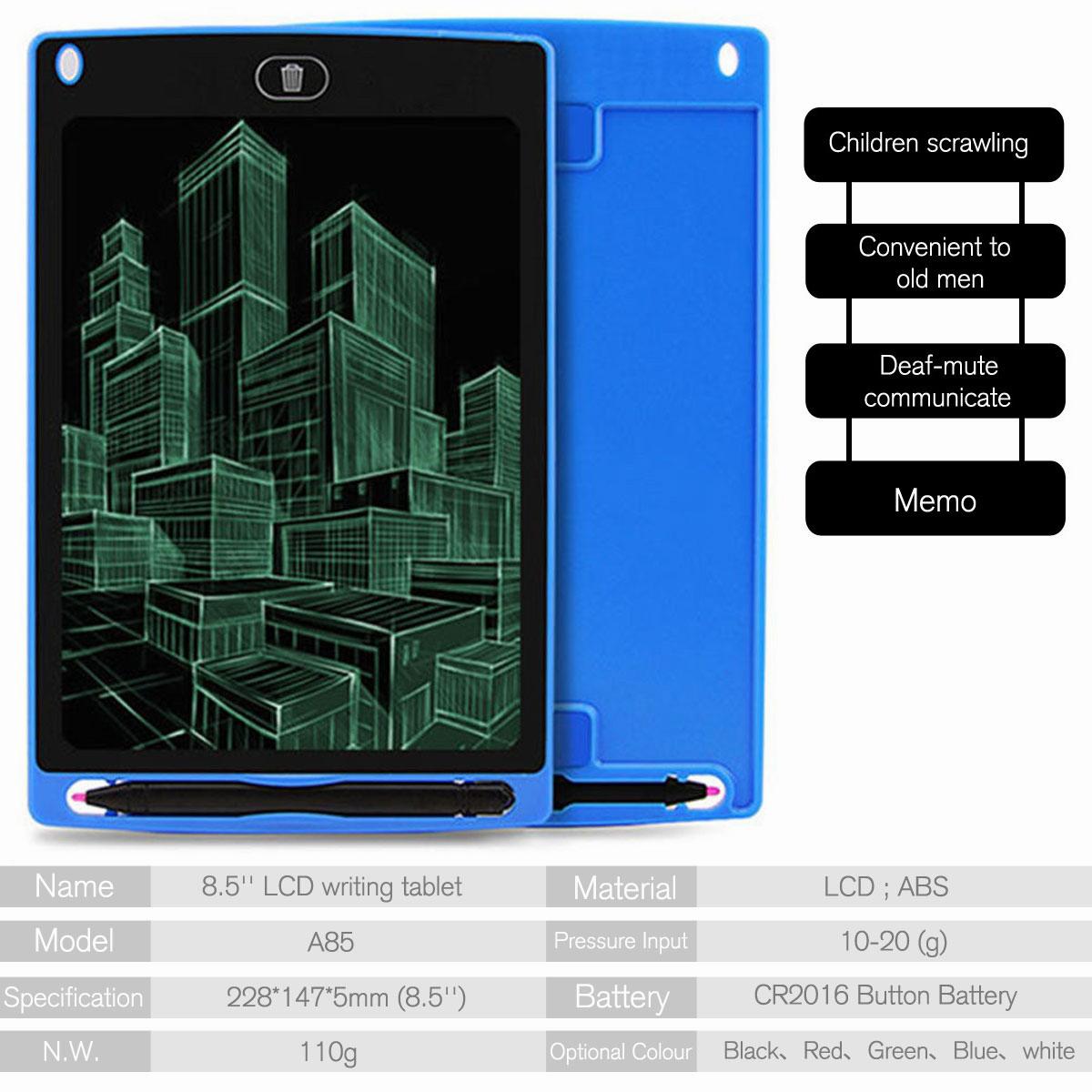 8-5-034-Digital-Electronic-LCD-Writing-Tablet-Drawing-Pad-eWriter-Board-For-Kids thumbnail 23