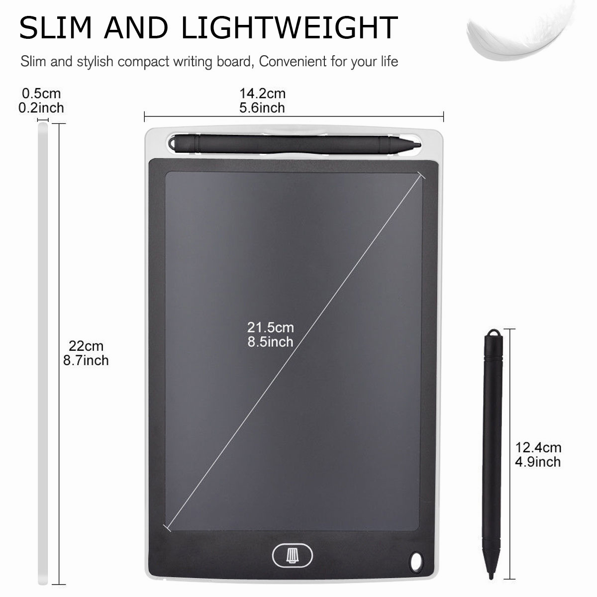 8-5-034-Digital-Electronic-LCD-Writing-Tablet-Drawing-Pad-eWriter-Board-For-Kids thumbnail 47