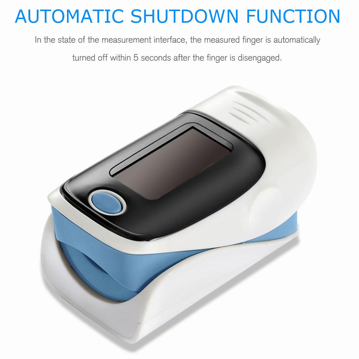 LED-Fingertip-Instant-Read-Finger-Pulse-Oximeter-Blood-Oxygen-Meter-SpO2-Monitor thumbnail 17