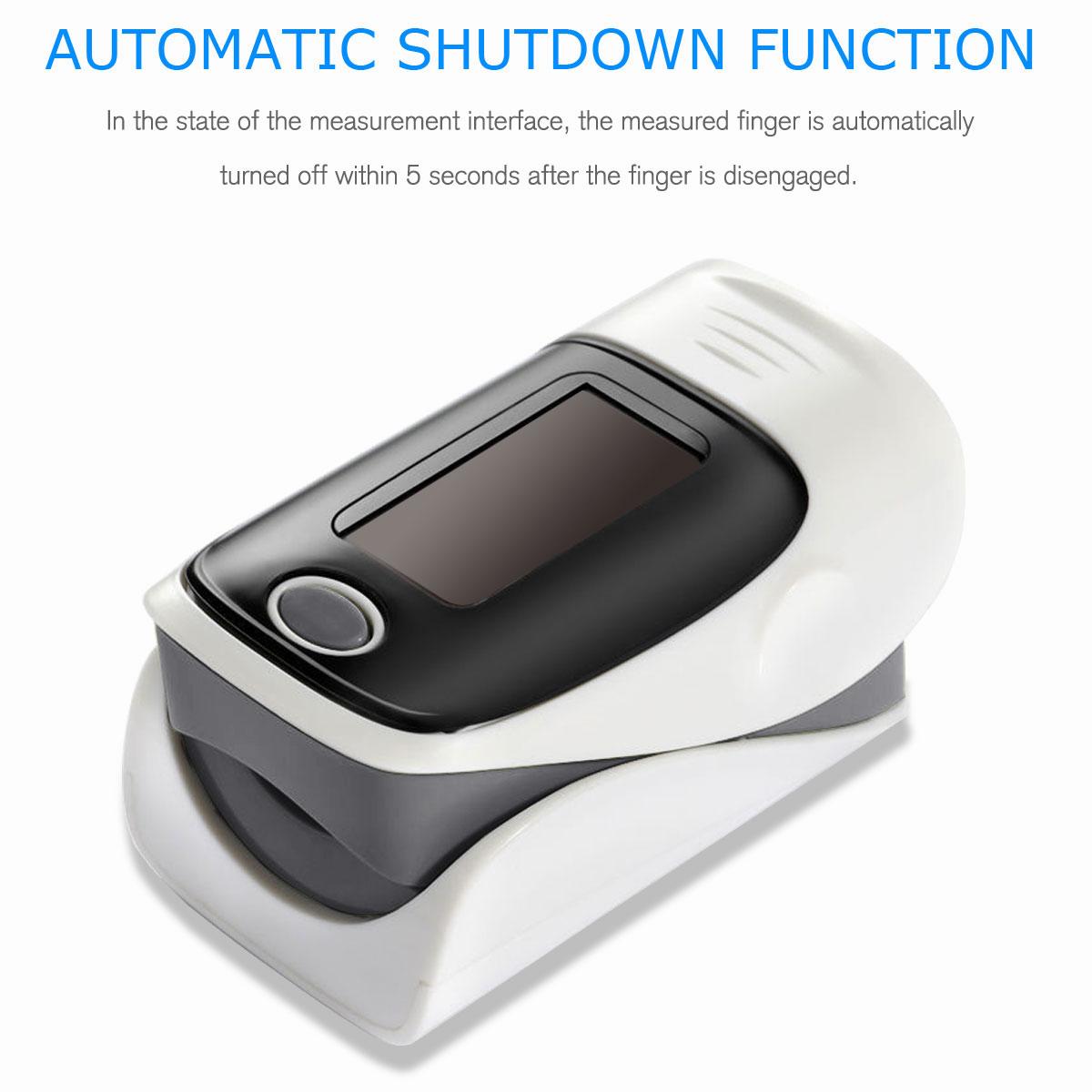LED-Fingertip-Instant-Read-Finger-Pulse-Oximeter-Blood-Oxygen-Meter-SpO2-Monitor thumbnail 23