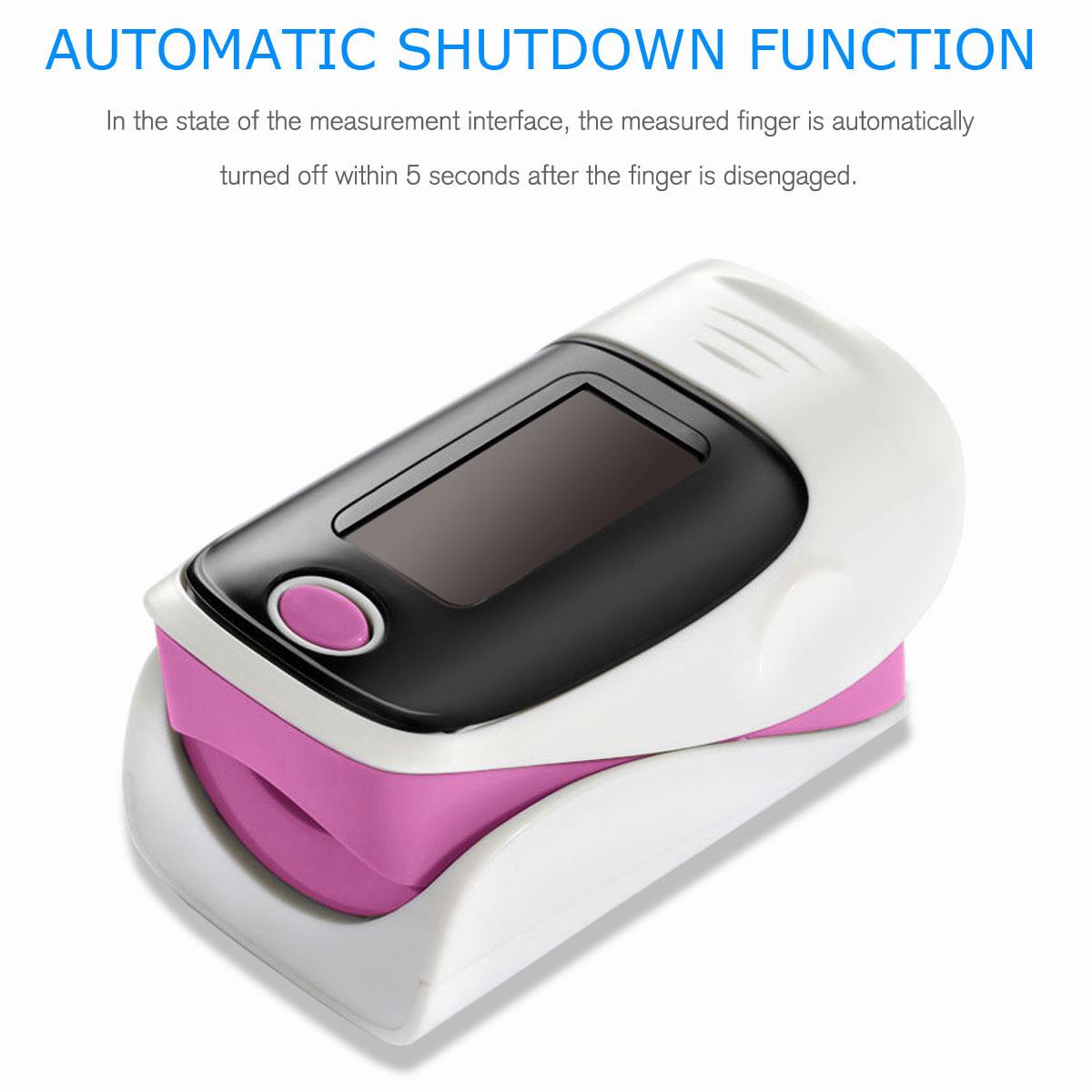LED-Fingertip-Instant-Read-Finger-Pulse-Oximeter-Blood-Oxygen-Meter-SpO2-Monitor thumbnail 35