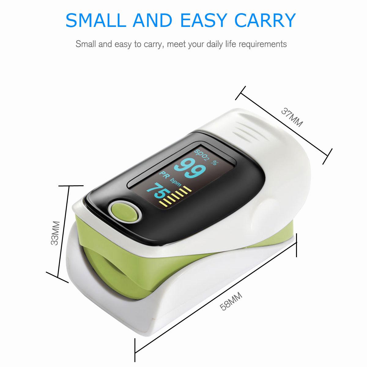 LED-Fingertip-Instant-Read-Finger-Pulse-Oximeter-Blood-Oxygen-Meter-SpO2-Monitor thumbnail 40