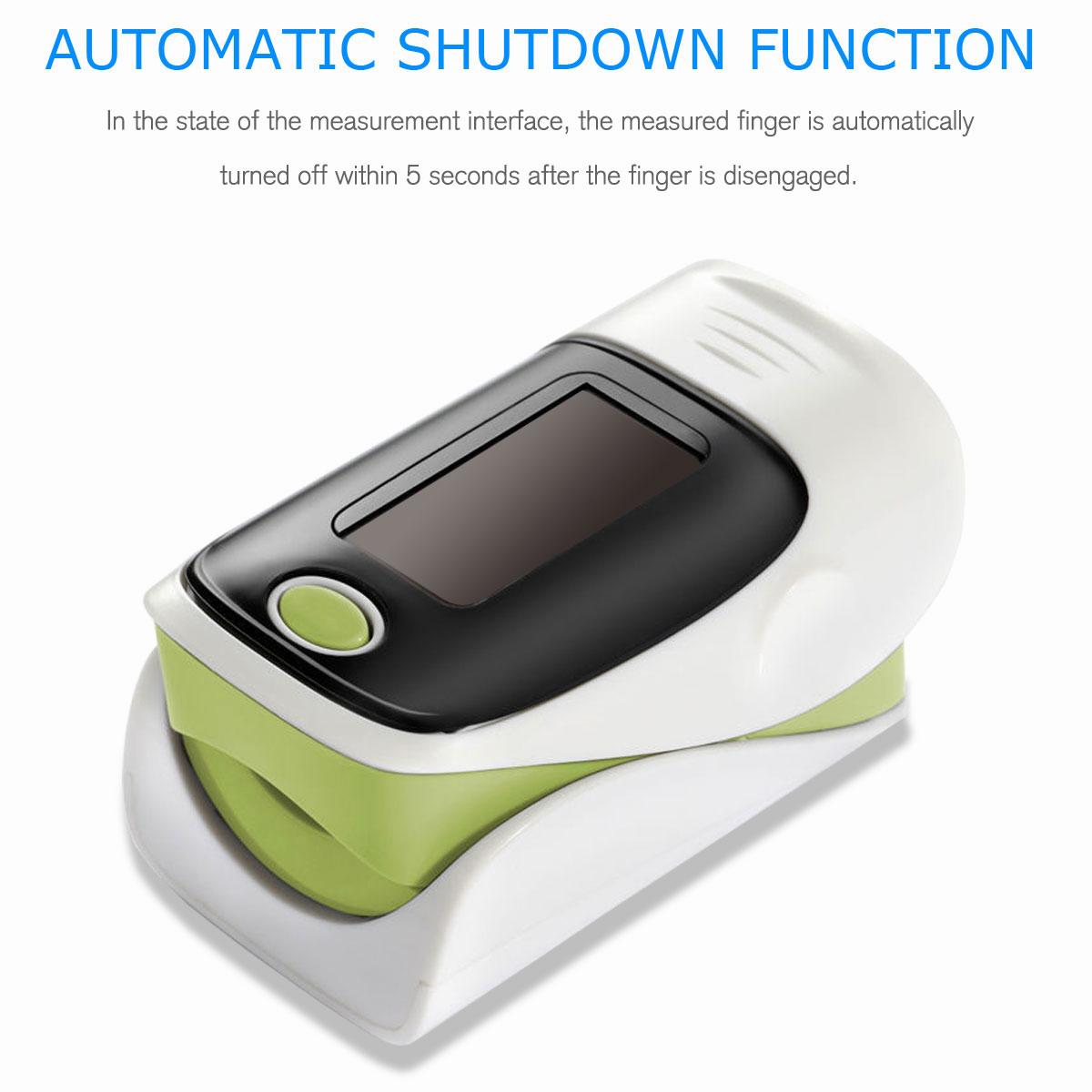 LED-Fingertip-Instant-Read-Finger-Pulse-Oximeter-Blood-Oxygen-Meter-SpO2-Monitor thumbnail 41