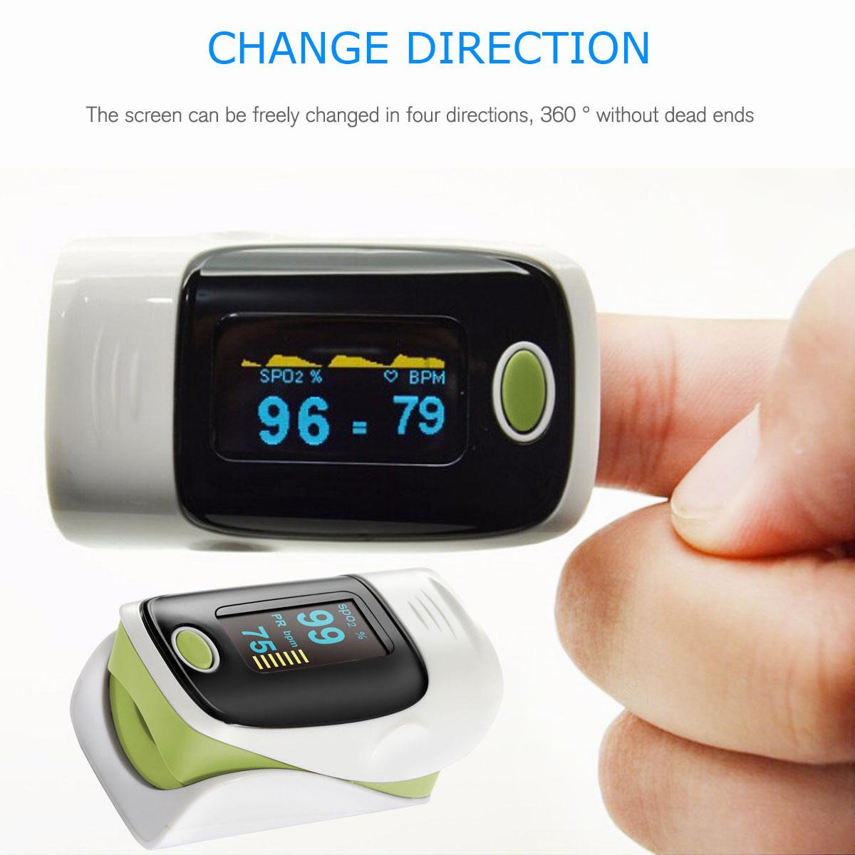 LED-Fingertip-Instant-Read-Finger-Pulse-Oximeter-Blood-Oxygen-Meter-SpO2-Monitor thumbnail 42